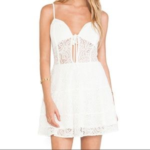 For Love and Lemons Baby Cakes mini dress